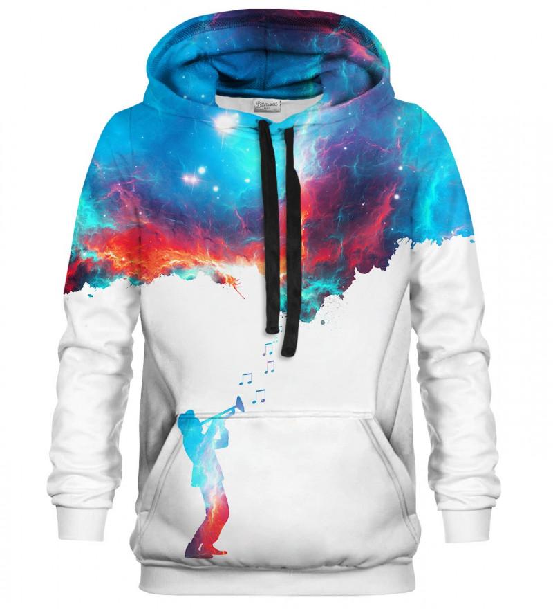 Printed hoodie Galaxy Music