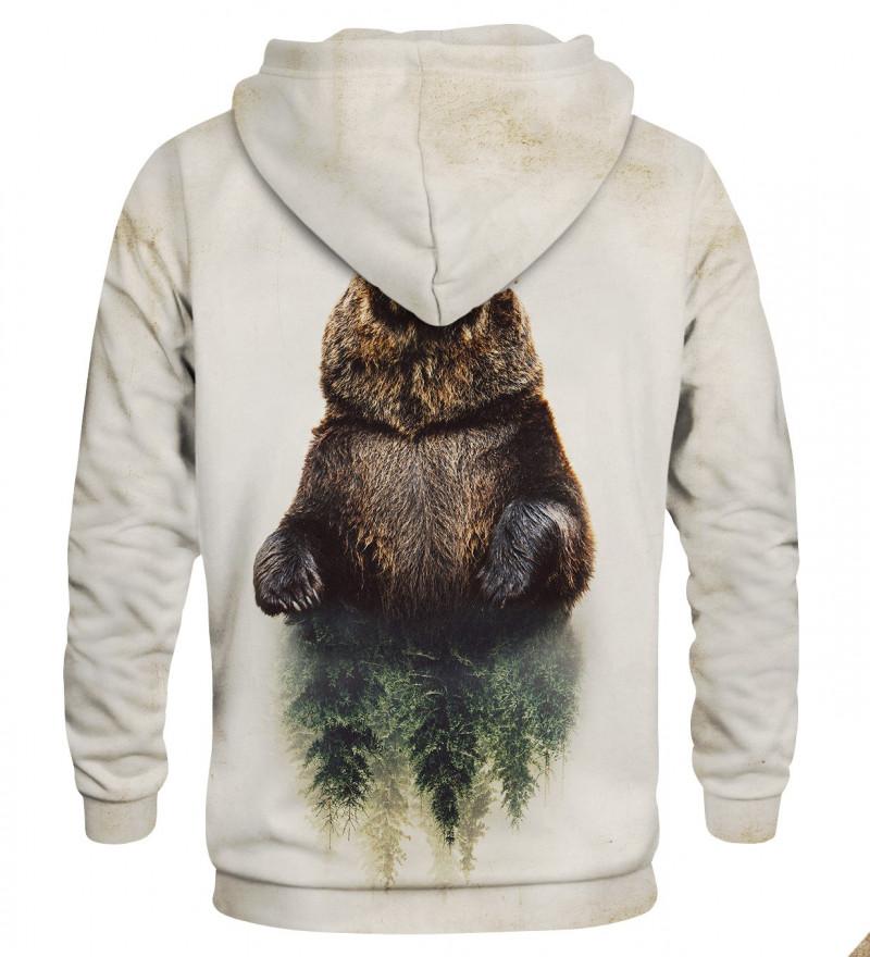 Printed hoodie Bear