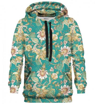 Printed hoodie Paisley