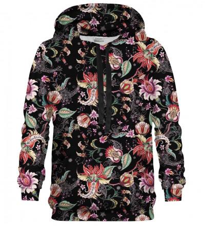 Printed hoodie Paisley Print