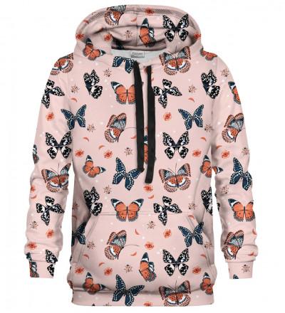 Printed hoodie Butterflies