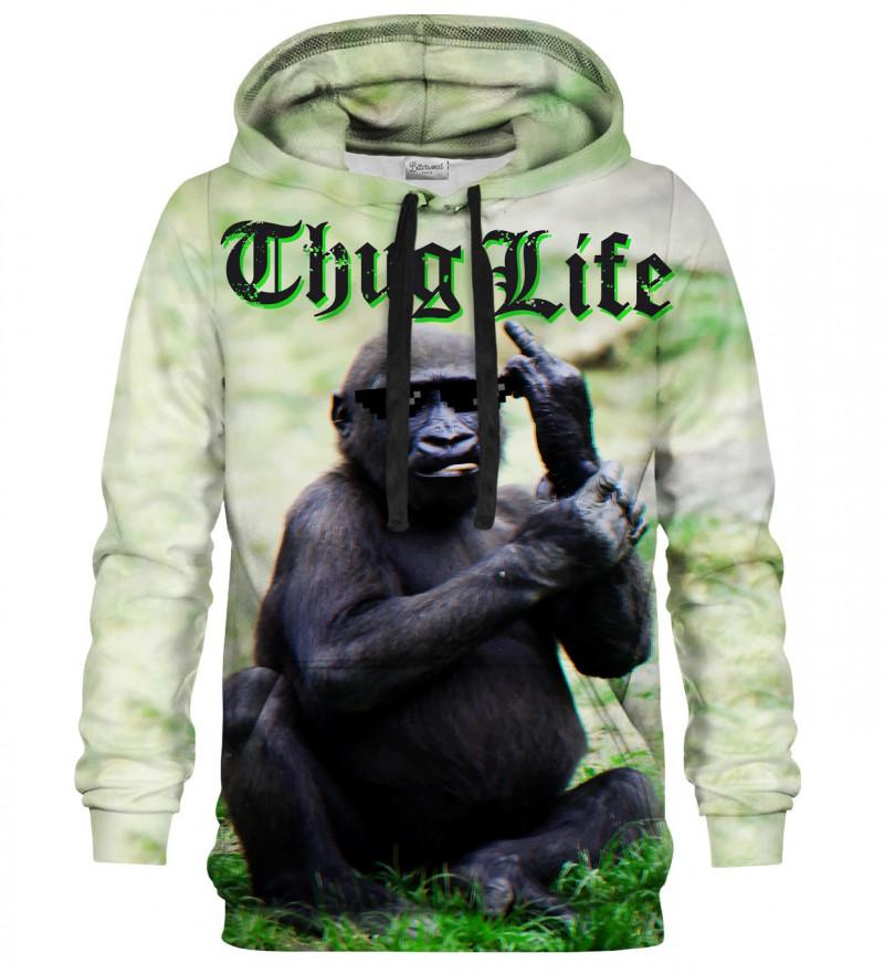 Printed hoodie Thug Life