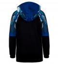 Wolf raglan hoodie