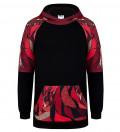 Tiger raglan hoodie