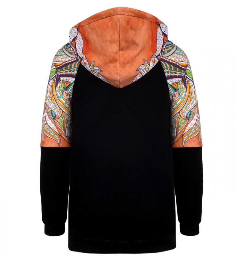 Lion raglan hoodie