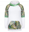 Dragon raglan hoodie