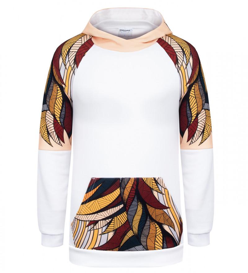 Foxie raglan hoodie