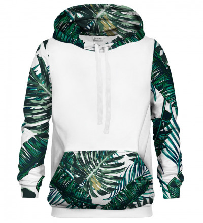 Tropical cotton hoodie