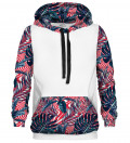 Abstract Flowers cotton hoodie