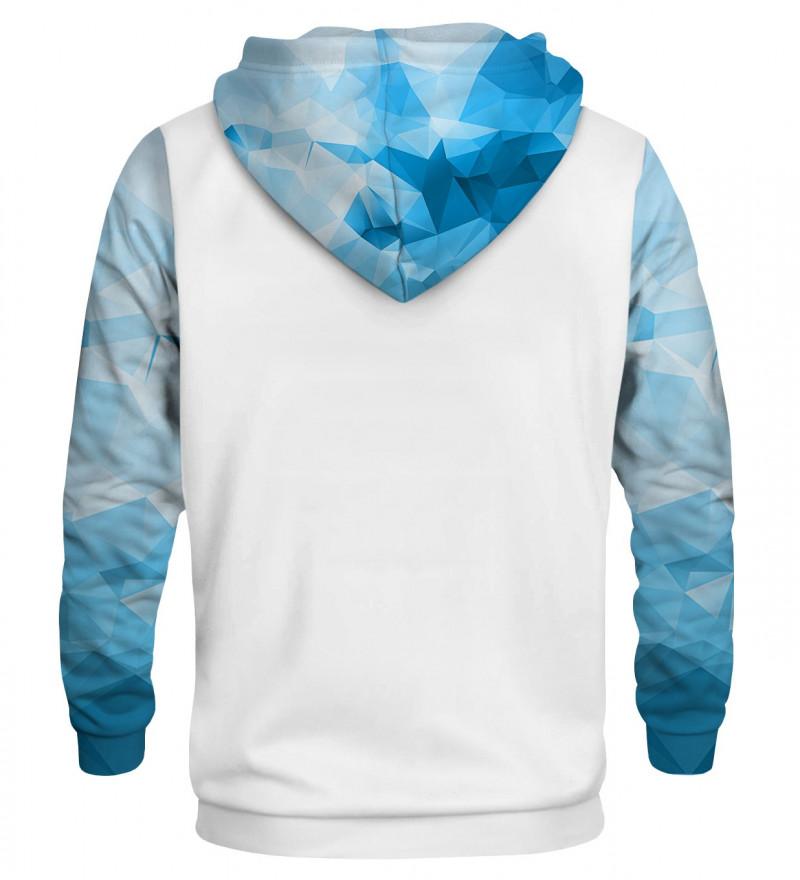 Blue Ocean cotton hoodie