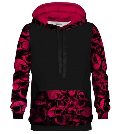 Skulls cotton hoodie