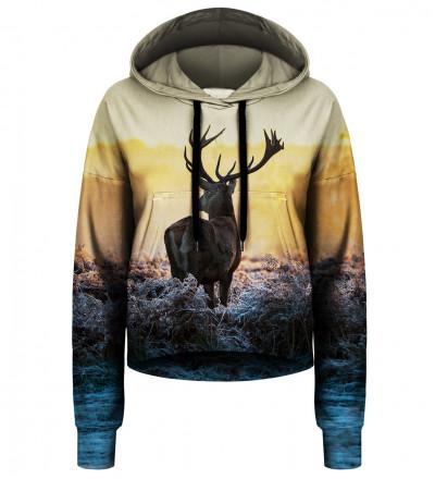 Crop hoodie Deer