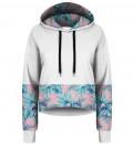 Crop hoodie Pink Paradise