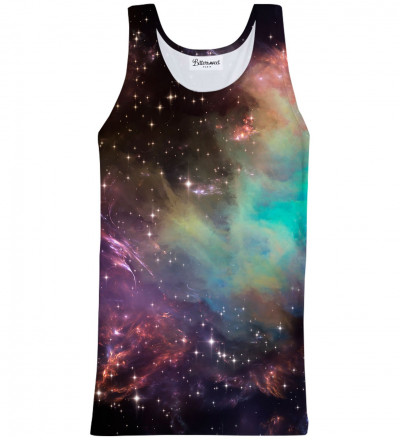 Tank Top Galaxy Clouds
