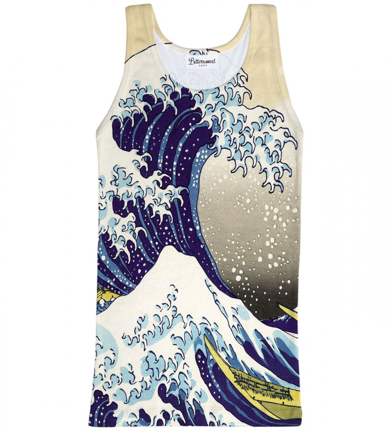 Great Wave Tank Top