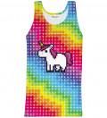Tank Top Pixel Unicorn