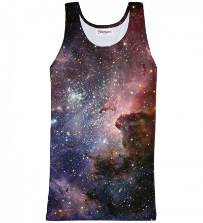 Tank Top Purple Galaxy