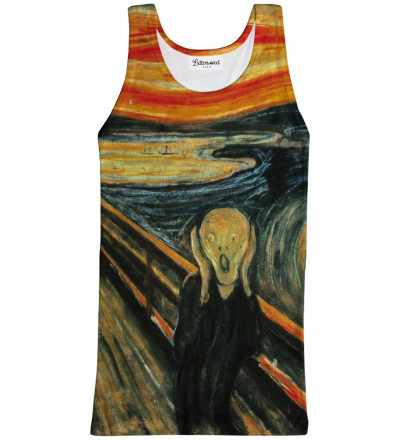 The Scream Tank Top