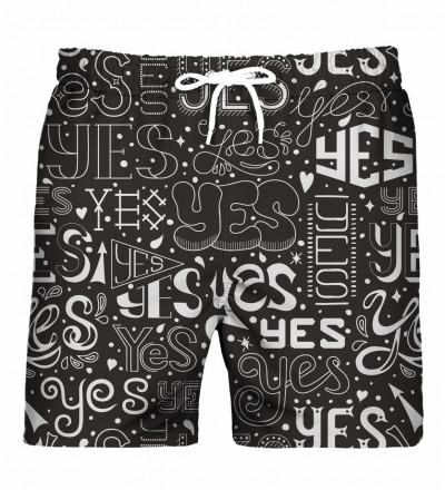 Say Yes swim shorts