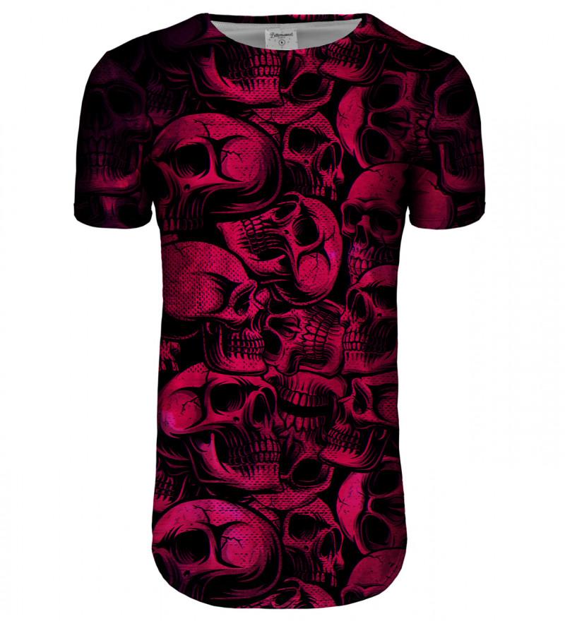 Skulls longline t-shirt
