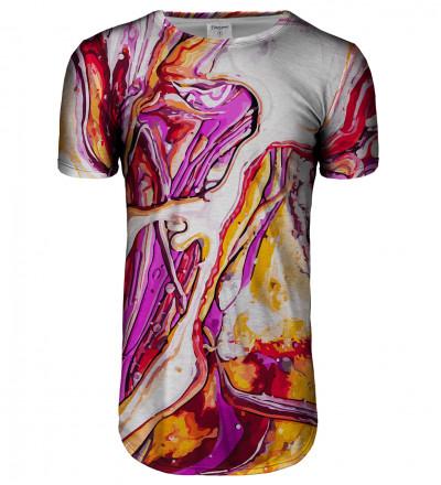 Split longline t-shirt