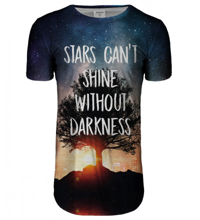 Stars longline t-shirt