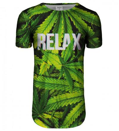 Przedłużany t-shirt Relax