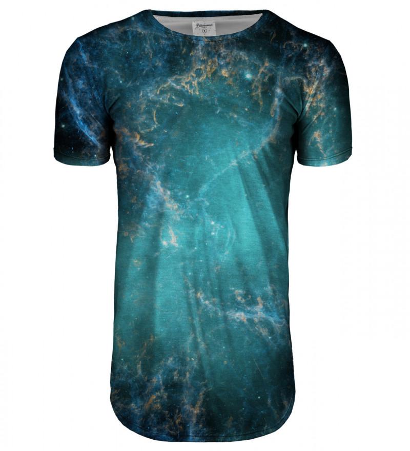 Przedłużany t-shirt Galaxy Abyss
