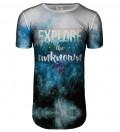 Explore longline t-shirt