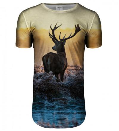 Deer longline t-shirt