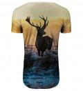 Przedłużany t-shirt Deer