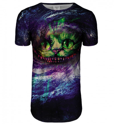 Magic Cat longline t-shirt