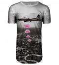 Przedłużany t-shirt Banksy