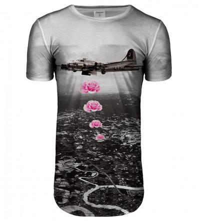 Banksy longline t-shirt