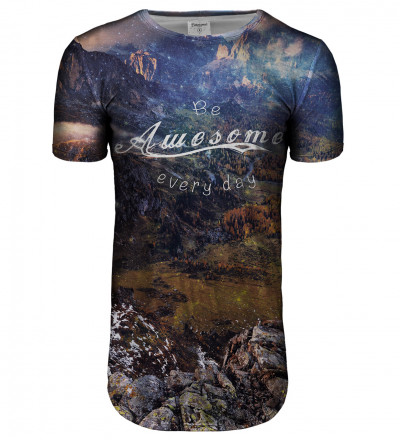 Awesome longline t-shirt
