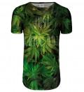 Weed longline t-shirt