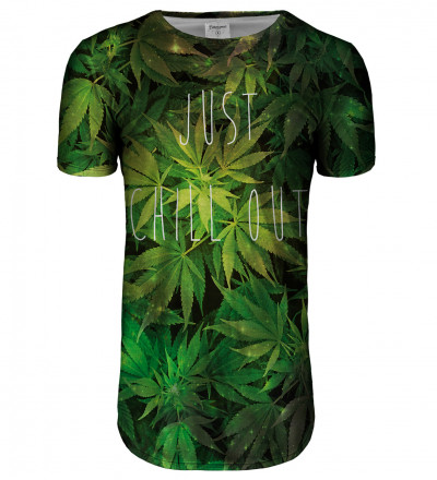 Weed longline t-shirt