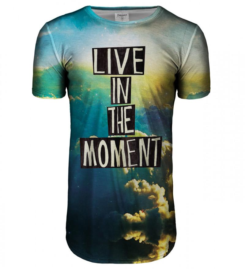 Przedłużany t-shirt Moment