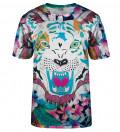 T-shirt Flower Tiger