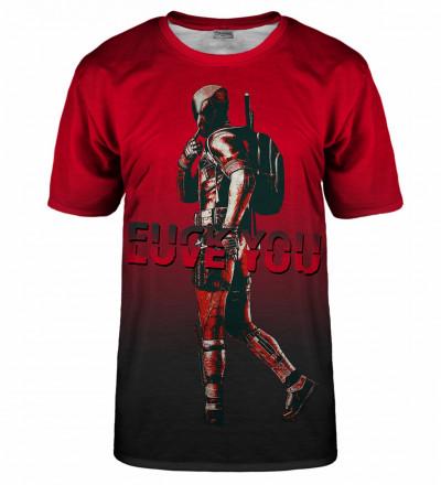 T-shirt Fuck/Love you