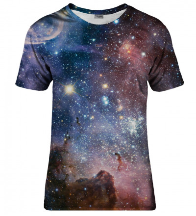 T-shirt damski Purple Galaxy