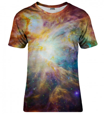 Galaxy Nebula womens t-shirt