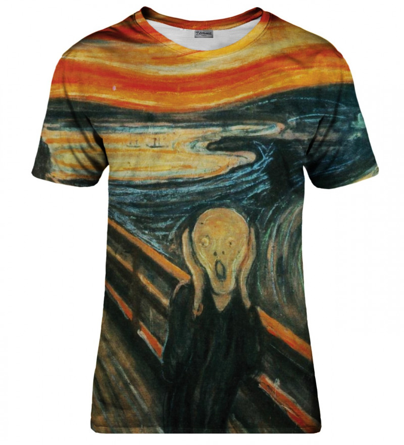 The Scream womens t-shirt