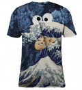 Wave of Cookies womens t-shirt