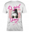 T-shirt damski Girl Things