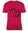 Kiss Me womens t-shirt