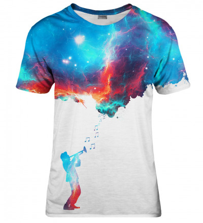 Galaxy Music womens t-shirt