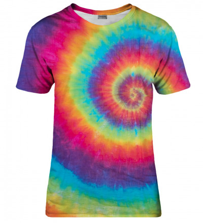 Colorful Tie-dye womens t-shirt