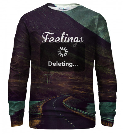 Feelings Deleting sweatshirt