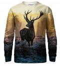 Deer bluse med tryk